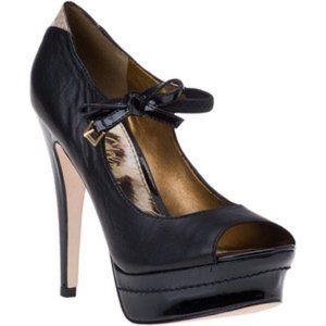 Sam Edelman Platform Peep Toe Bow Strap heels